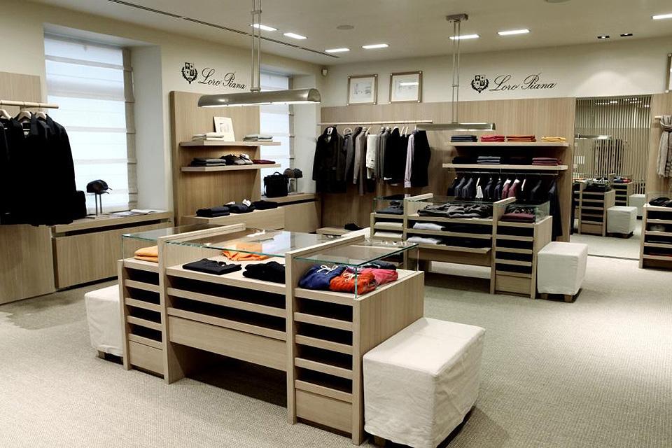 Магазины брендовой одежды