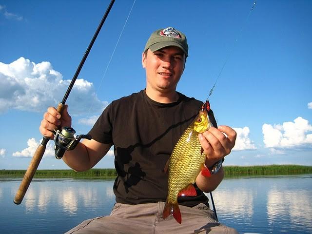 рыбалка на ровкульском